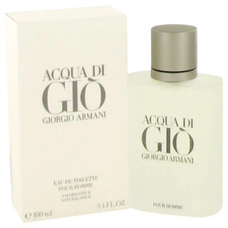 Acqua Di Gio by Giorgio Armani for Men 3.3 oz EdT Spray