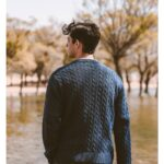 Cable-Knit Classical Pullover For Men