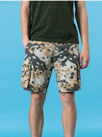 100% Cotton Camouflage Shorts For Men