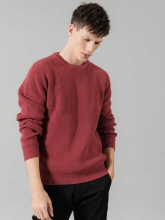 Casual Neck Design Knitwear Pullover For Men