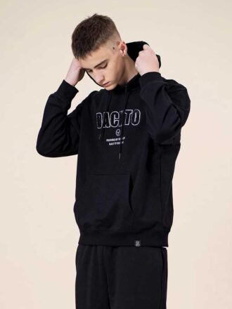 Men's Simple Letter Embroidery Hoodie
