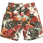 Floral Print Hawaii 100% Cotton Shorts For Men